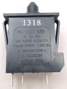 Genuine OEM Peg-Perego Accelerator Pedal Switch, MEPU0001
