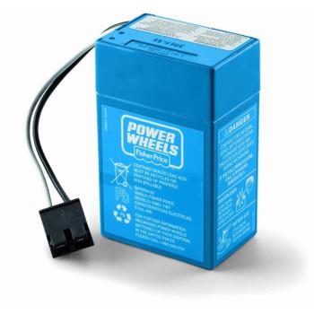Power Wheels 6 Volt, Blue Battery, 00801-1457, 00801-1900