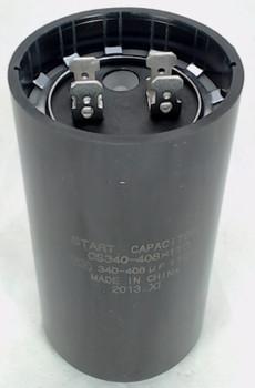 Start Capacitor, Round, 340-408 Mfd., 110 Volt, CS340-408X110