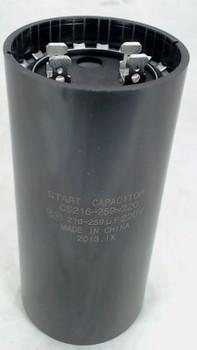 Start Capacitor, Round, 216-259 Mfd., 220 Volt, CS216-259X220