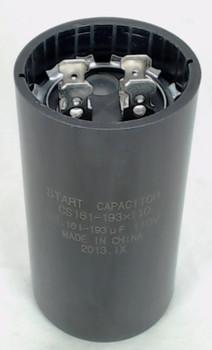 Start Capacitor, Round, 161-193 Mfd., 110 Volt, CS161-193X110