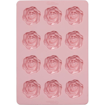 Wilton Silicone Bakeware, 12 Cavity Rose Candy Mold, 2115-8516