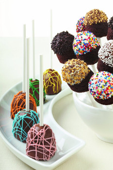 Wilton Silicone Bakeware, 8 Cavity Brownie Pops Mold, 2105-4925