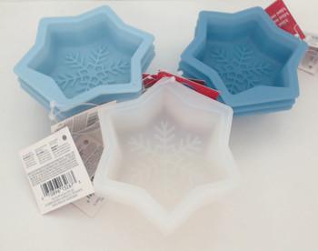 Wilton Silicone, 9 Pack Mini Snowflake Molds, WSMS9PK