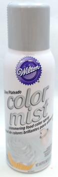 Wilton 1.5 Oz  Silver Color Mist Shimmering Food Color Spray, 710-5521