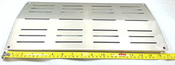 Stainless Steel Heat Plate for Charbroil, Grand Cafe, 97441