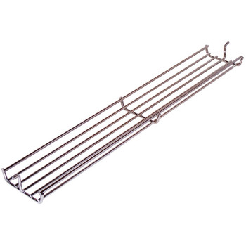 Music City Nickel Plated Warm-Up Basket for Weber, 02347