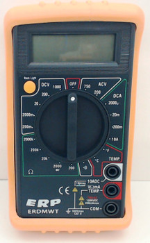 Digital Multimeter w/Temperature, ERDMWT