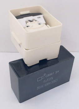 Compressor Start Device & Capacitor for Whirlpool, AP5787784 PS8746522 W10613606