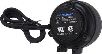 Packard 6 Watt Condensor Fan Motor, 115 V, 1550 RPM, AP5637243, MTR6CW115
