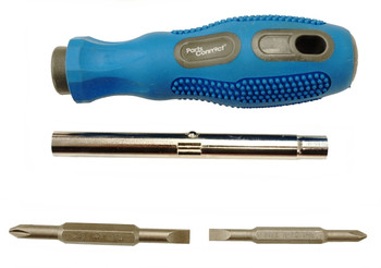 Parts Connect 6-in-1 Super Driver Screwdriver, PC70051