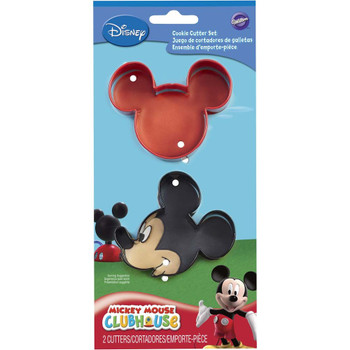 Wilton Disney Mickey Mouse Clubhouse Cookie Cutters, Set of 2, 2308-4440