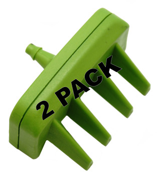 2 Pk, Bissell Long Hair Nozzle for BARKBATH Portable System, 1611748