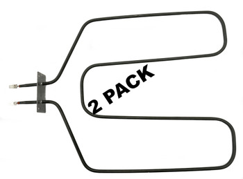 2 Pk, Broil Element for General Electric, AP2031066, PS249349, WB44X10015