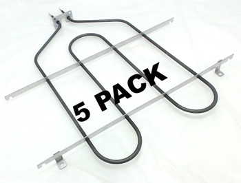 5 Pk, Broil Element for General Electric, Hotpoint, AP2030995, WB44T10009