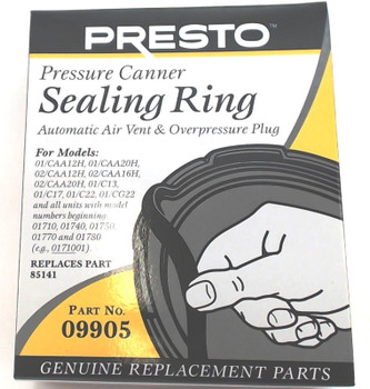 2 Pk, Presto Pressure Cooker Sealing Ring Gasket 09905