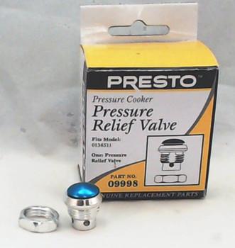2 Pk, Presto Pressure Cooker Pressure Relief Valve, 09998