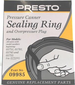 2 Pk, Presto Pressure Cooker Sealing Ring 09985