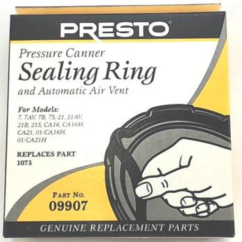 2 Pk, Presto Pressure Cooker Sealing Ring Gasket 09907