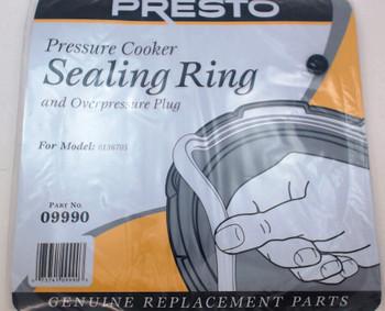2 Pk, Presto Pressure Cooker Sealing Ring Gasket For Model 0136705, 09990