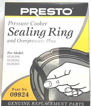 3 Pk, Presto Pressure Cooker Gasket Sealing Ring 09924