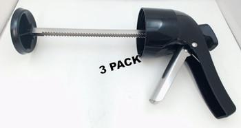 3 Pk, Presto Black Handle Assembly For Presto Jerky Gun Model 0863201, 86002