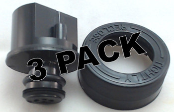 3 Pk, Bissell Cap and Insert for Clean Solution Tank, 2035541