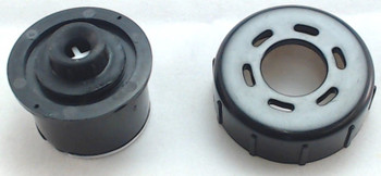 2 Pk, Bissell Flip It Clean Tank Cap with Insert, 2036800, 2036713