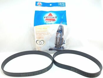 10 Pk, Bissell Vacuum Belts, Style 7 9 10 12 14 16 2-Pk 32074