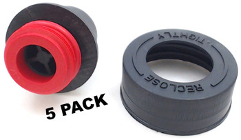 5 Pk, Bissell 2X Pro Heat Cap & Insert for Water Tank, 2036675