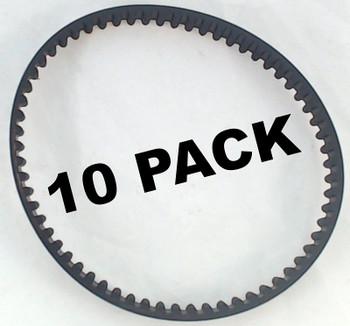 10 Pk, Bissell Deepclean Essential Cogged Brush Belt, 1601542