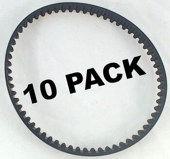 10 Pk, Bissell Pro Heat Deep Clean Small Brush Belt, 1602669
