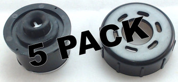 5 Pk, Bissell Flip It Clean Tank Cap with Insert, 2036800, 2036713