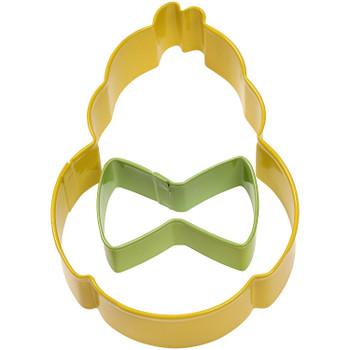 Wilton Duck & Bow-tie Cookie Cutter Set of 2, 2308-0217