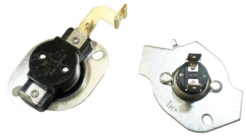 2 Pk, Clothes Dryer Thermostat Kit for Whirlpool, Kenmore, 3977767 and Fuse
