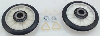 2 Pk, Dryer Drum Roller Kit for Whirlpool, AP3098345, PS347627, 349241T