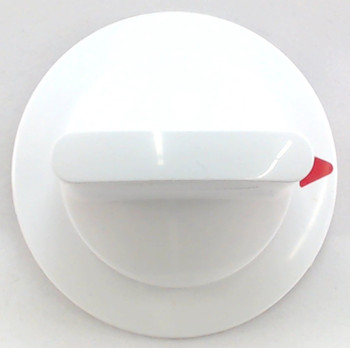 2 Pk, Dryer Timer Knob, White, for General Electric, AP2042269, WE1X1263