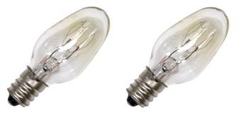 Dryer Light Bulb 2 Pack for Whirlpool, AP6006279, PS11739347 3406124, WP22002263