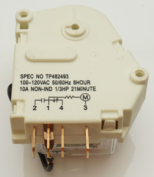Defrost Timer for Whirlpool Refrigerator, AP5985208, PS11723171, W10822278