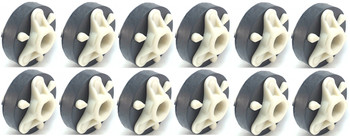 Washer Direct Drive Coupler, 12 Pack, for Whirlpool, Sears, 285753