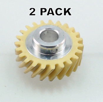 2 Pk, Stand Mixer Fiber Worm Gear for KitchenAid , AP4295669, W10112253