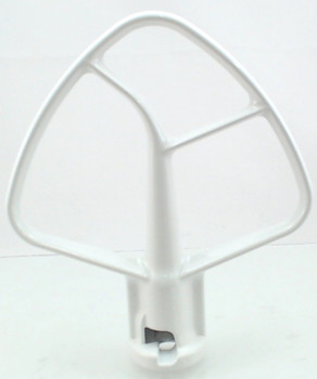 2 Pk, Stand Mixer, 4.5 QT Flat Coated Beater for KitchenAid K45B, W10672617
