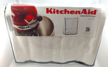 2 Pk, Stand Mixer Cloth Cover in White for KitchenAid, KMCC1WH, WP4396709