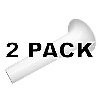 2 Pk, Stand Mixer Lrg Tube Sausage Stuffer Attachment for KitchenAid, 242466