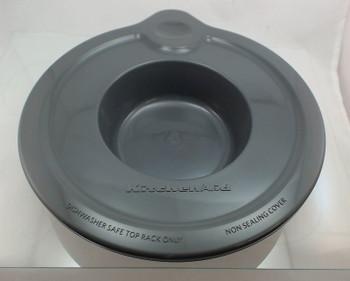 2 Pk, Glass Bowl Cover, 5 Qt, for KitchenAid , AP4568268, PS3407103, WPW10223140