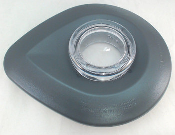 2 Pk Blender Lid Assembly Includes Cap Charcoal Gray for KitchenAid, WPW10183714