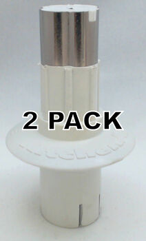 2 Pk, Food Processor Blade Adapter for KitchenAid, AP5330651, W10451497