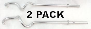2 Pk, Hand Mixer Dough Hook Set for KitchenAid, AP5671607, PS7320748, W10490651