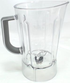 2 Pk, 56 Oz Plastic Blender Jar Assembly for KitchenAid, AP5804640, WPW10555711