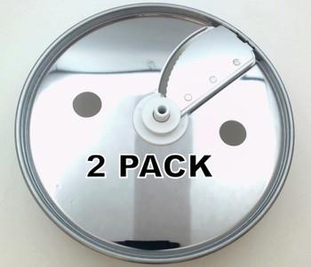 2 Pk, Food Processor Adjust. Slicing Disc for KitchenAid , AP6021613, W10451466